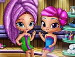 Glittery Genies Realife Sauna joc
