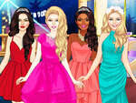 Glam Girls Dress Up game
