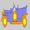 игра Золото старой окраски автомобиля