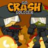 Crash katona megy játék