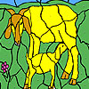 Goat and cub coloring game