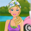 Golf Barbie jeu