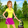 Golf Player Girl game