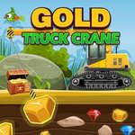 Златен камион кран игра