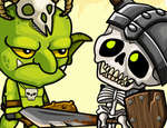 Goblins vs Skeletons game