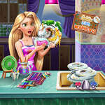 игра Голди Блюдо Мытье