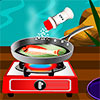 Grilované ryby s citrónom hra