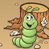 Hebzuchtige worm spel
