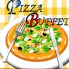 Buffet de Pizza grande jeu