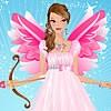 Agraciado Valentine Angel Dress Up juego