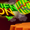 Green alien invasion game