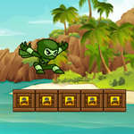 Green Ninja Run jeu