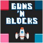 Armas y bloques juego