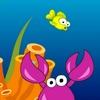 Mutlu küçük balık oyunu