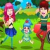 Честита Пролет семейството екскурзия игра