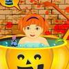 Хелоуин бебе къпане игра