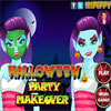 Halloween Party Makeover game