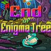 Halloween-Escape-Spiel - Ende des Enigma-Baum