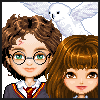 Harry Potter and Friends Dressup game