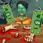 Handless Millionaire Zombie Food game