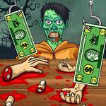 Handless Milliomos Zombie Élelmiszer játék