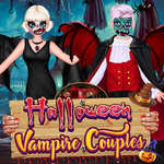 Couples de vampire d'Halloween jeu