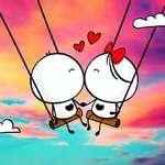 Feliz Día de San Valentín Detectar las diferencias juego