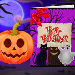 Happy Halloween Princess Card Designer game