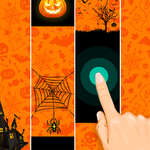 Halloween Magic Fliesen Spiel