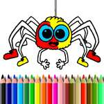 Halloween Coloring Time game