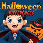 Halloween különbségek játék