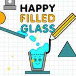 игра Счастливое заполненное стекло
