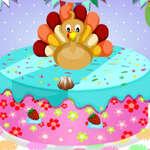 игра Счастливый Мастер Торта На День Благодарения