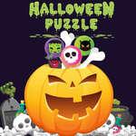 Halloween Puzzle Spiel