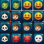 Halloween blokkok puzzle játék