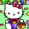 Hallo Kitty Coloring Spiel