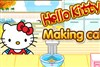 Hello Kitty Make Cake game