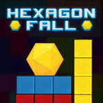 Hexagon Fall game