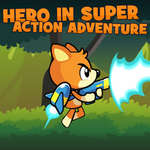 Hero In Super Action Adventure game