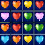 Heart Balloons Block Collapse game