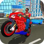 Hero Stunt Spider Bike Simulator 3d game