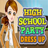 Középiskolai fél öltöztetős játék