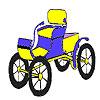 игра Исторические открытый автомобиль раскраски