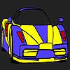 Leistungsstarke Auto Färbung Spiel