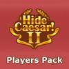 Hide Caesar 2 joueurs Pack jeu