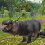 HIPPO Hunting Sniper Shooter game