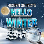 Hidden Objects Hello Winter game
