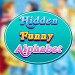 Hidden Funny Alphabet game