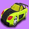 Forró rally autó színező játék