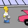 Homers Beer Run juego